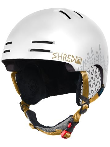 Shred Slam-Cap White Out Helmet