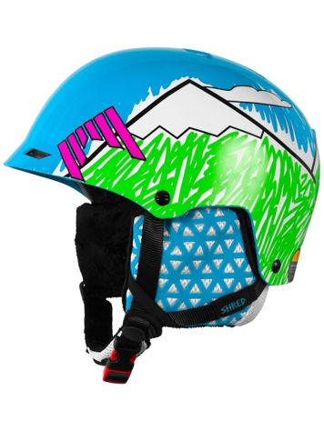 Shred Half Brain D-LUX Needmoresnow Helmet