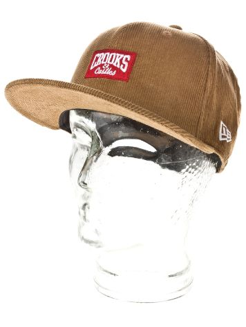 Crooks & Castles Core Logo Fitted Cap