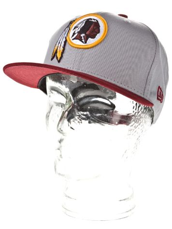 New Era Washington Redskins Cotton Block Cap