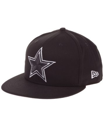 New Era Dallas Cowboys Black White Basic Cap