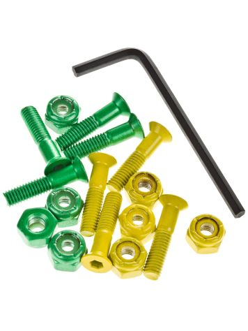 "Shake Junt All Green Yellow Inbus 7/8"" Bolts"