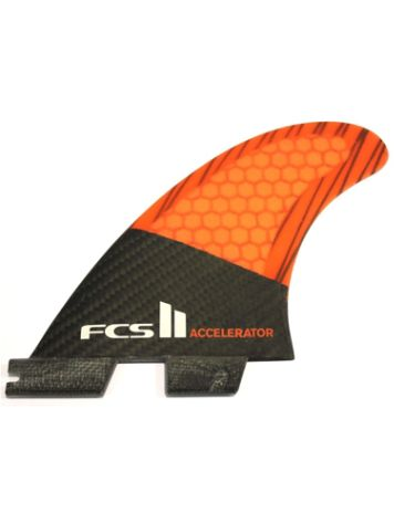 FCS Accelerator 2 PC Carbon Medium Tri Fins