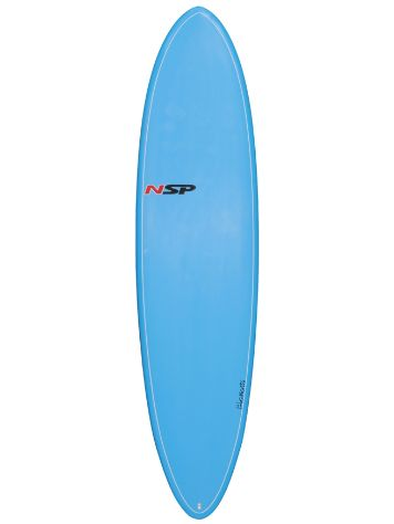 "NSP Elements Fun Surf VC 7'2"" Blue"