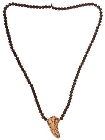 Wood Fellas Sneakers brown Necklace