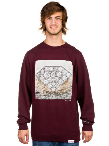 Diamond Diamond Ring Crew Sweater