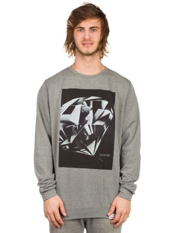Diamond Diamond Cut Crewneck Sweater