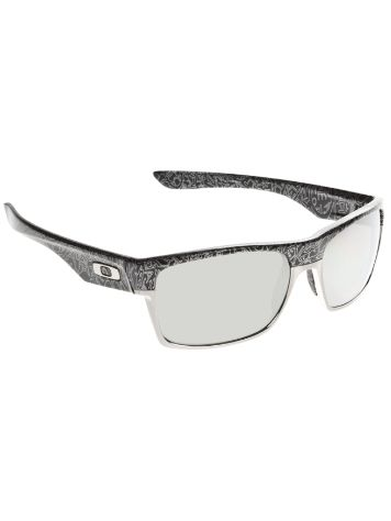 Oakley Two Face Polished Black Silver Ghost