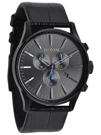 Nixon The Sentry Chrono Leather