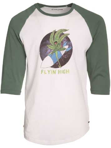 Volcom Flying High 3/4 T-Shirt LS