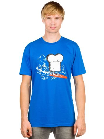 Cleptomanicx Surfs Up Toast T-Shirt