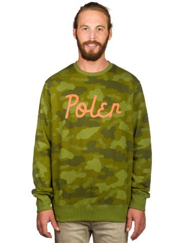 Poler Cozy Stuff Crew Neck Sweater