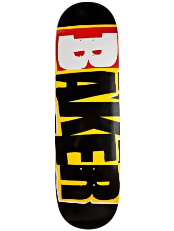 Baker Reset Logo Black Yellow 8.3875