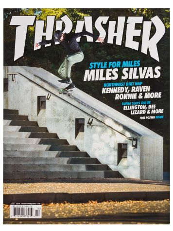 Thrasher Trasher Issue 2014 Oktober