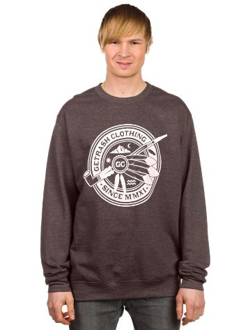 Getrash Indian Smoke Crewneck Sweater