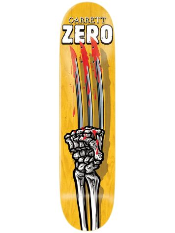 "Zero Garrett Skeleton Hands 8.0"" Deck"