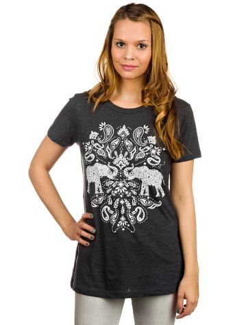 Empyre Girls Elephant Mirror Crew T-Shirt