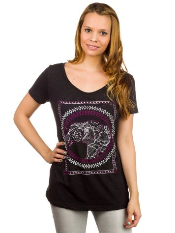 Empyre Girls Elephant Lace Scoop Neck T-Shirt