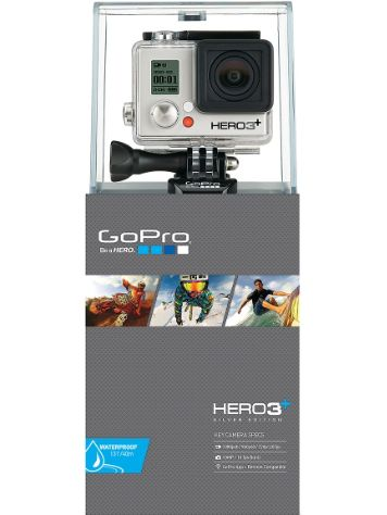 GoPro Cam HERO3+ Silver Edition Deutsch
