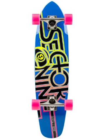 "Sector 9 The Wedge 7.25"" X 31.3"" Blue Deck"