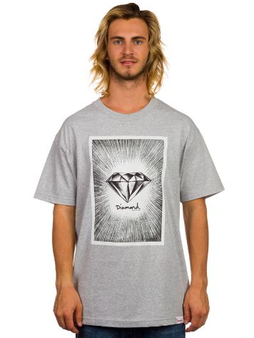 Diamond Newsprint T-Shirt