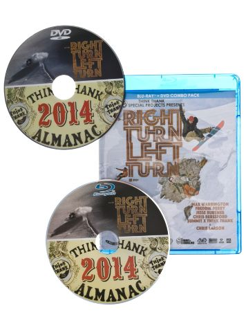 Think Thank Almanac & Right Turn Left Turn DVD
