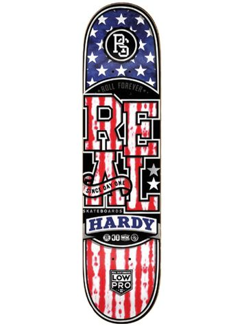 "Real Low Pro Merica J.Hardy 8.25"" Deck"