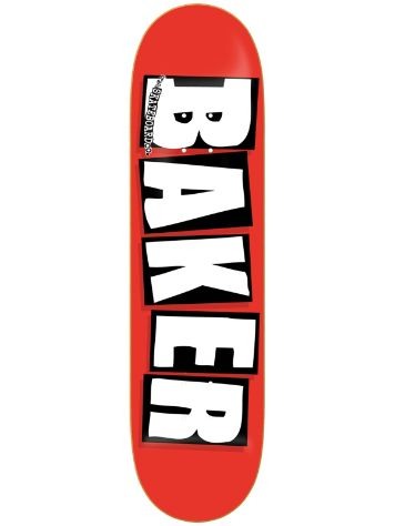 "Baker Brand Logo Red White 8.0"" Deck"