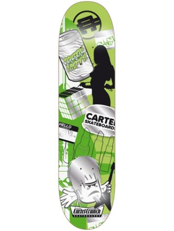 "Cartel Skateboards Mishmash 7.8"" Skateboard Deck"