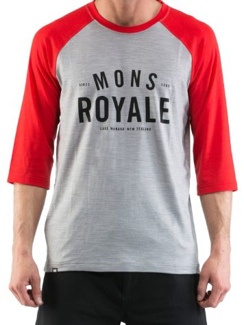 Mons Royale Merino Bike Tech Tee LS