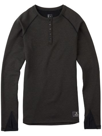 Burton Expedition Wool Tech Henley Tee LS