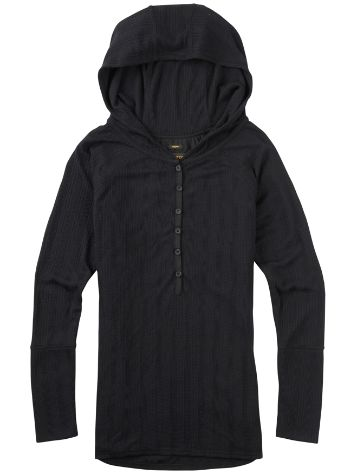 Burton Avocet Hooded Henley T-Shirt LS