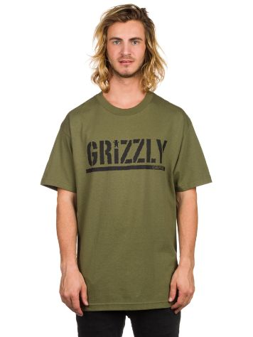 Grizzly OG Stamp Logo T-Shirt