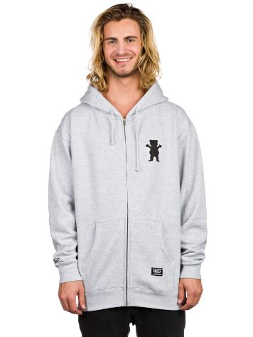 Grizzly The Roar Zip Hoodie
