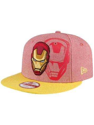 New Era Heather Face IRONMEN Cap