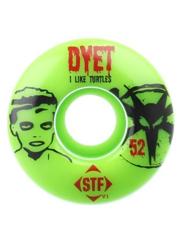 Bones Wheels STF Dyet Turtles V1 52mm Wheels