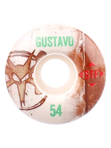 Bones Wheels STF Gustavo Vintage V1 52mm Wheels