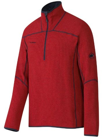 Mammut Phase Zip Pull TecH Tee LS