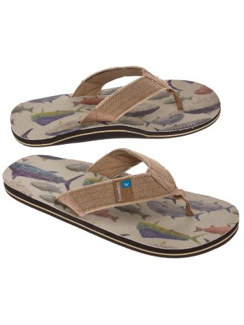 Freewaters Palapa Print Sandals