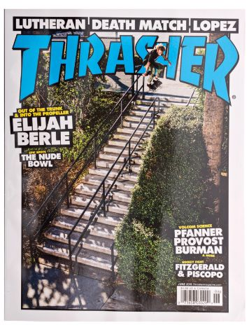 Thrasher Trasher Issue 2015 June
