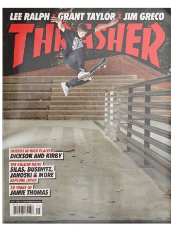 Thrasher Trasher Issue 2015 October