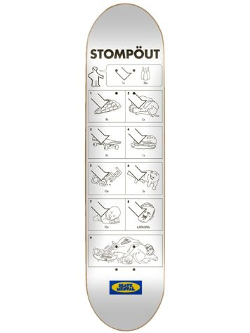 "Skate Mental Stompout 8.25"" Deck"