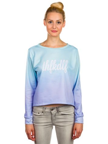 THFKDLF Fade Crop Sweater
