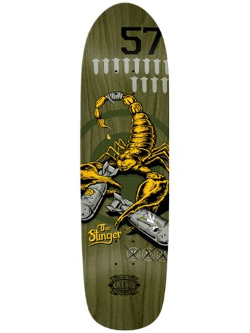 "Real Wrecking Crew Stinger 2 8.8"" x 32.5"" Deck"