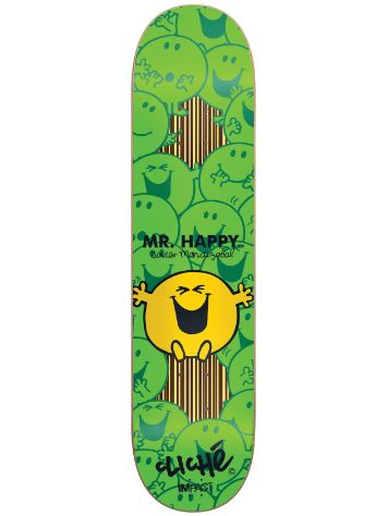 "Cliche Mendizabal Mr.Men Impact 7.75"" Deck"