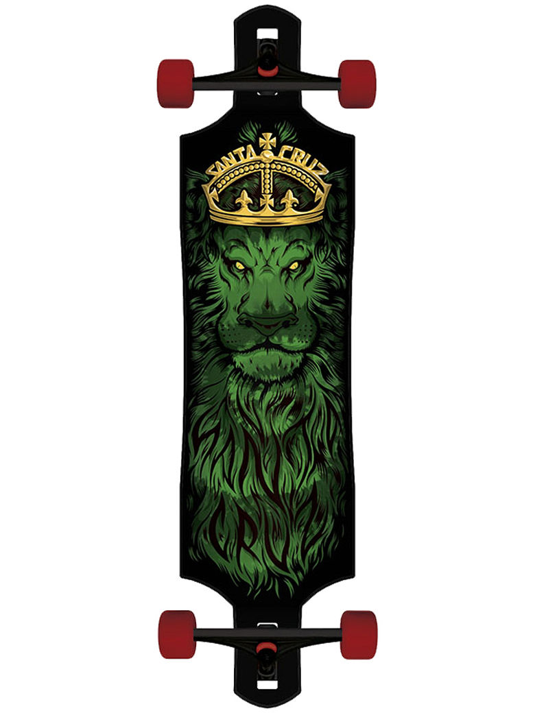 "Lion God Drop Thru Cruzer 10"" Longboard"