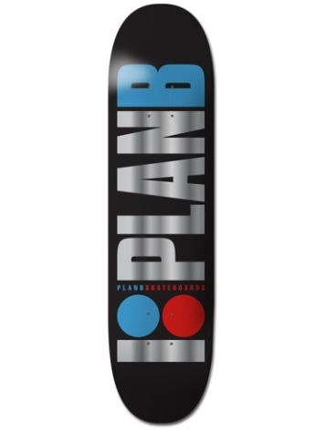 "Plan B Team Og Foil 8"" Skateboard Deck"