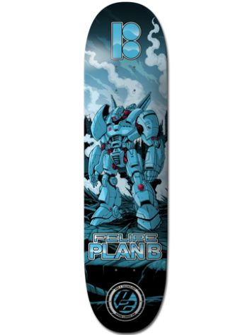 "Plan B Felipe Guardian 8"" Skateboard Deck"