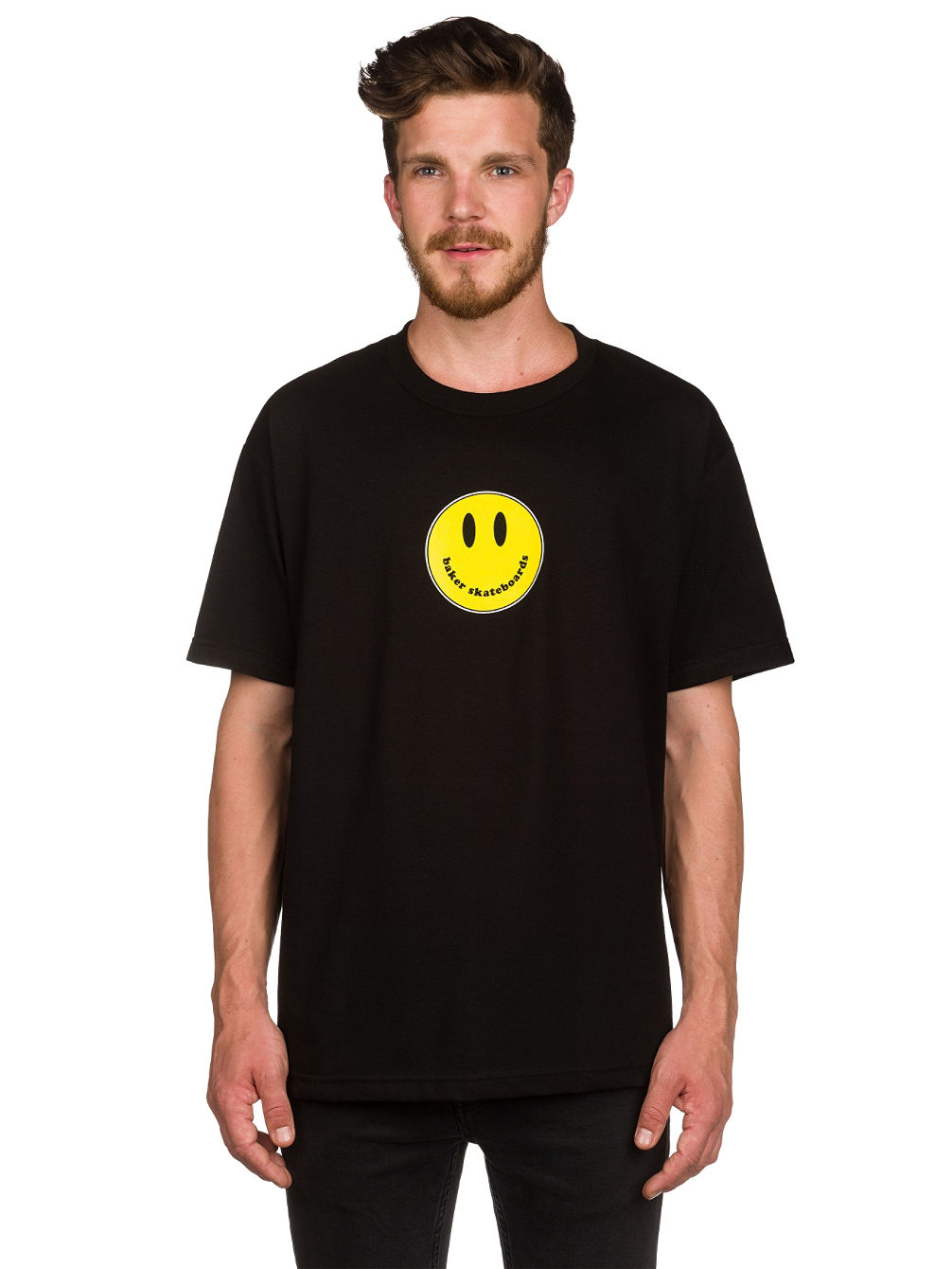 baker-smiley-t-shirt