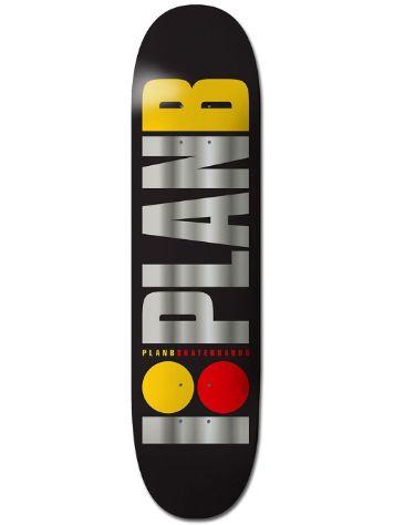 Plan B Team Og Blk Ice 7.875´´ Skateboard Deck